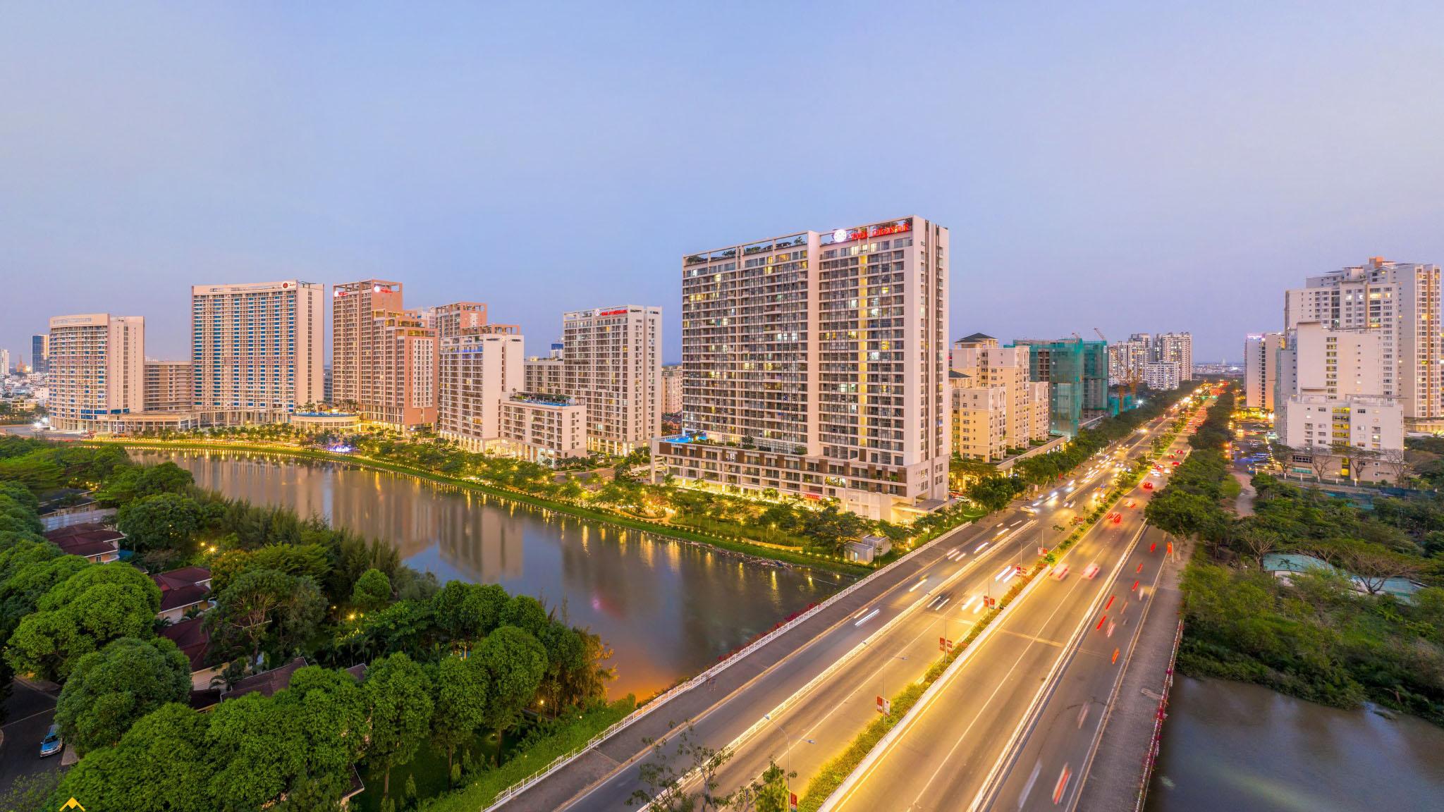 Trục đường thương mại Nguyễn Lương Bằng